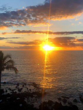 Sunset from Kihei