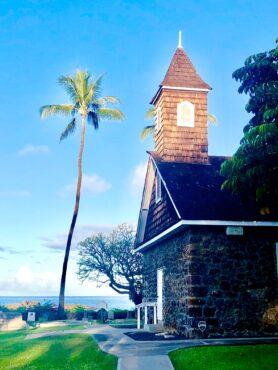 Historic church in McKenna
