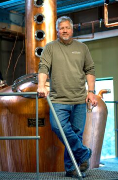 Keith Barnes, Bainbridge Organic Distillers