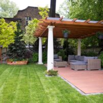 flourishing backyard spaces