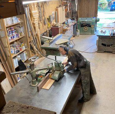 Woodworker Robert Niclas Jr. (Photo courtesy Robert Niclas)