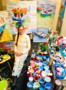 Indianola artist Sydni Sterling (Photo courtesy Sydni Sterling)