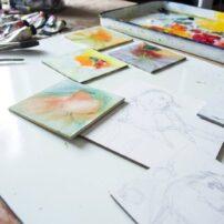 Jani Freimann work in progress (Photo courtesy Jani Freimann)
