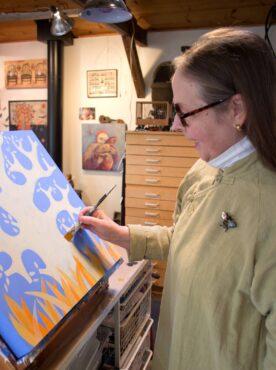 Artist Diane Haddon