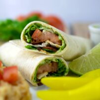 BLT Wrap with Avocado Spread
