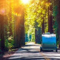 travel trailer trip