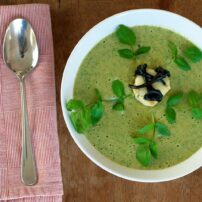 Watercress is related to mustard, radish and wasabi. Langdon Cook uses the plant to make his parsnip and watercress soup. (Photo courtesy Langdon Cook)