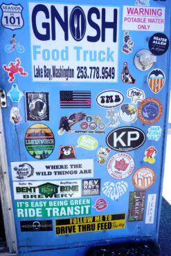 Gnosh Food Truck, Lakebay