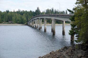Bridge to Harstine Island