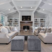 Comfortable and durable furniture with an inviting layout