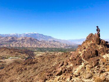 Top of Eisenhower Mountain, Living Desert