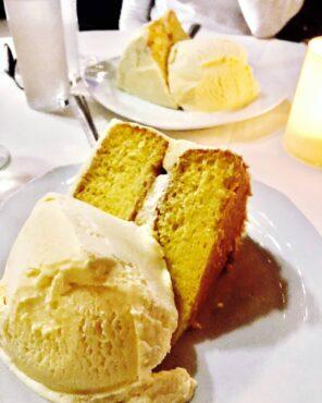 Dessert at John Henry, Palm Springs