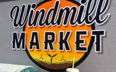 Date shake at the tiny Windmill Market