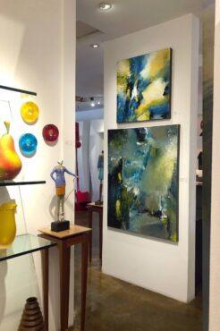 A gallery featuring Olalla artist Chuck Gumpert, El Paseo