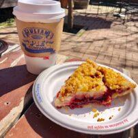 Pie in the mountain town of Julian