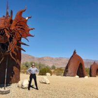 Sculpture in Borego Springs