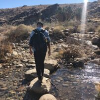 Hiking in Indian Canyons