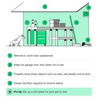 Pet-Proofing Your Garage (click to enlarge)