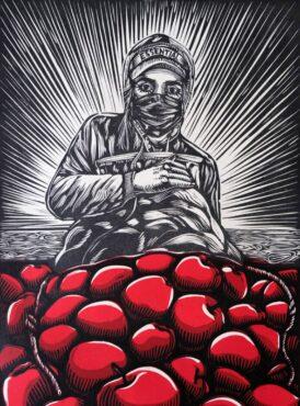 """""""Trabajadora Esencial"""" by Christie Tirado"""