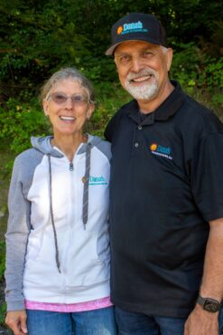 Donna and Dana Pieze, owners