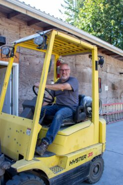 Matt Boerner, warehouse/inventory foreman
