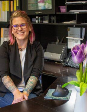 Brandi McAuley; accounting, marketing and community outreach