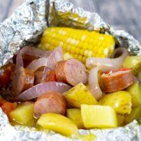 Sausage Foil Packet Dinner