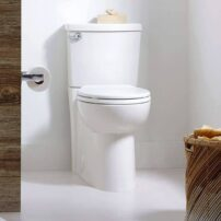 Cadet 3 FloWise round-front, concealed trapway toilet by American Standard