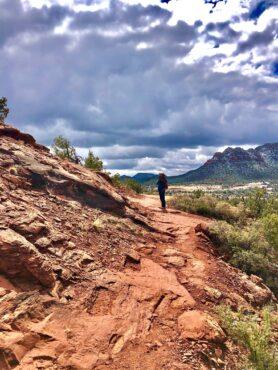 Hiking on the Baldwin Trail