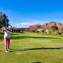 Golfing at Sedona Golf Resort