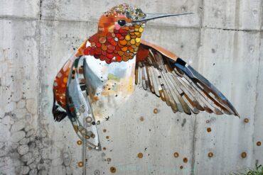 Heron Meadow Mural