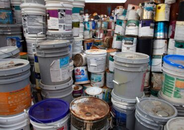 paint can disposal