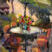 """""""Outdoor Cafe"""" by Donna Trent"""